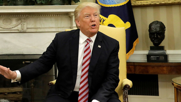 """Trump: El encuentro con el canciller ruso Lavrov """"ha ido muy bien"""""""