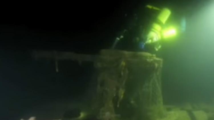Video: Hallan dos submarinos soviéticos en el fondo del golfo de Finlandia