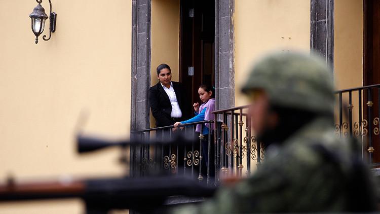 México se convierte en la segunda zona de guerra más mortal del mundo, según una encuesta