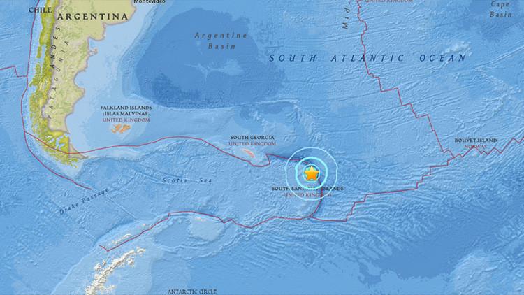 Un terremoto de magnitud 6,8 se registra en el Atlántico
