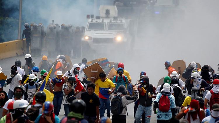 Fallece joven en manifestación violenta convocada por la oposición en Caracas