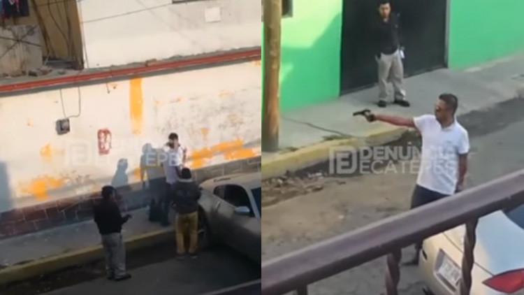 'México no es país para samaritanos': Sacan coche de la cuneta y les agradecen a balazos (Video)