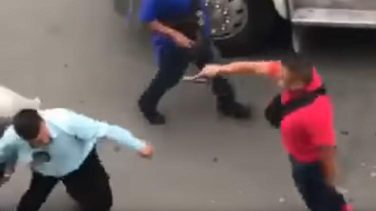 México: Registran tiroteo entre Policía y 'narcos' en operativo contra vendedores de droga (VIDEO)