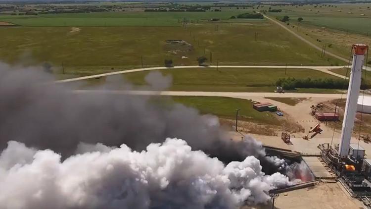 Primeras pruebas del cohete de SpaceX que podría llevar al hombre hasta Marte (VIDEO)