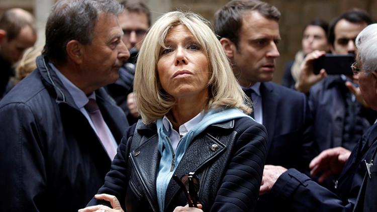 'Charlie Hebdo', atacado por una caricatura machista de Brigitte Macron