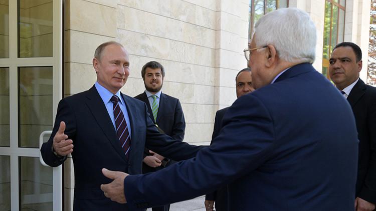 Putin discute con Abbás el conflicto palestino-israelí