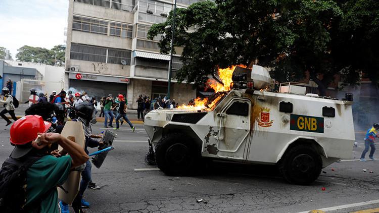 Revelan detalles del asesinato de un joven venezolano en protesta violenta de la oposición