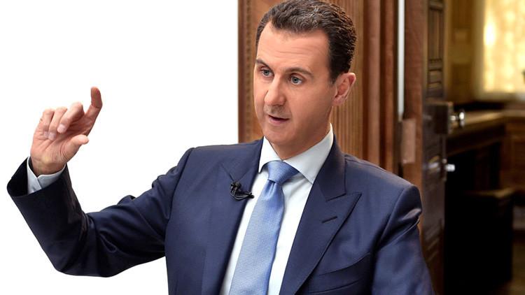 """Assad: """"Zonas de seguridad iniciadas por Rusia dan una oportunidad para la reconciliación en Siria"""""""