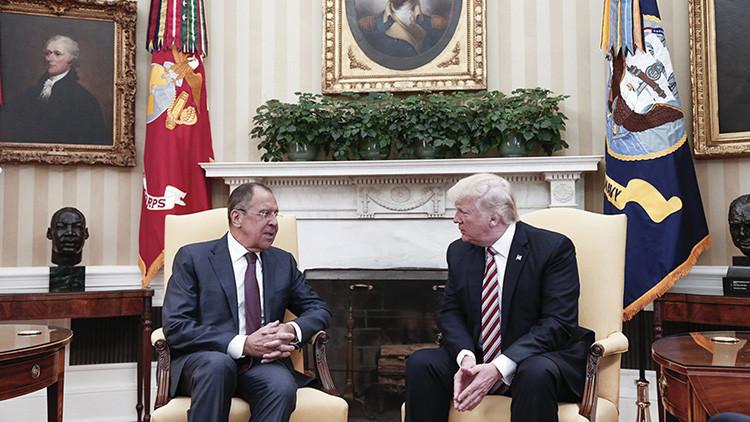 """Trump: """"Mi excelente reunión con Lavrov puede salvar vidas y llevar a la paz"""""""