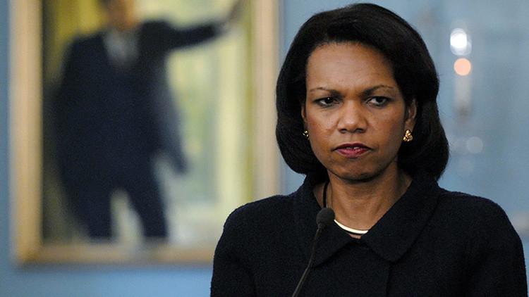 """Condoleezza Rice: """"Fuimos a Irak para derrocar a Saddam, no para llevar la democracia"""""""