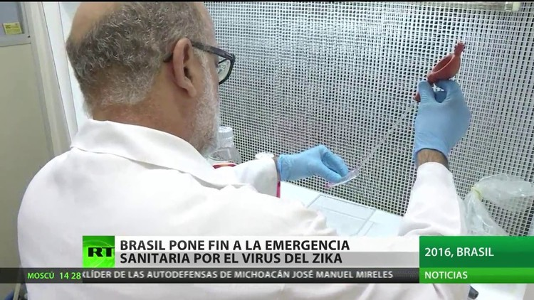 Brasil pone fin a la emergencia sanitaria por el virus del zika
