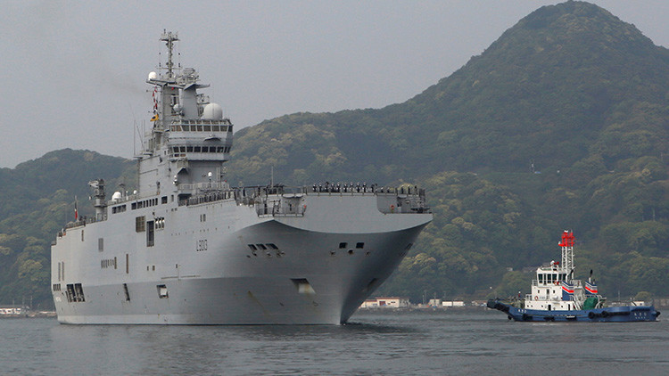 Accidente frustra ejercicios militares conjuntos en el mar de la China Meridional