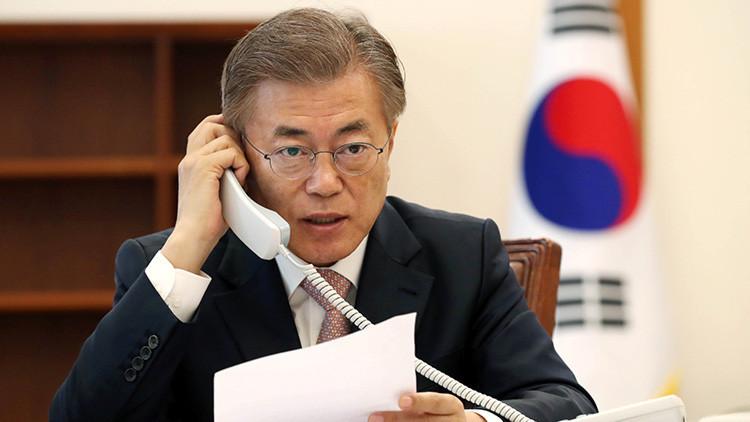 """""""Provocación descabellada"""": Moon Jae-in condena la prueba del misil norcoreano"""