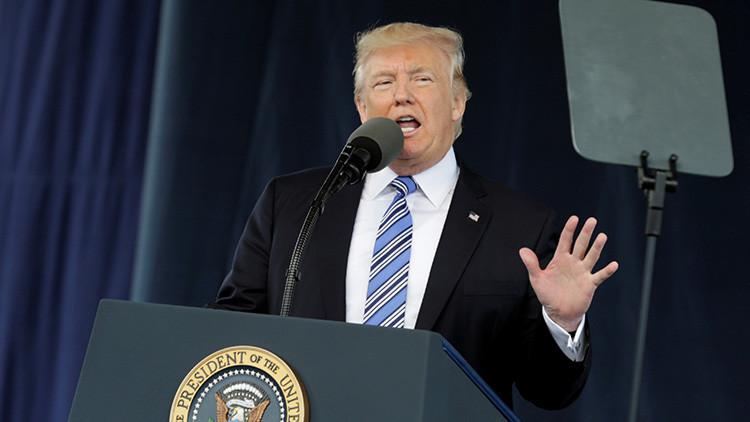 """Trump: """"Tenemos algunas buenas ideas sobre la solución del problema de Corea del Norte"""""""