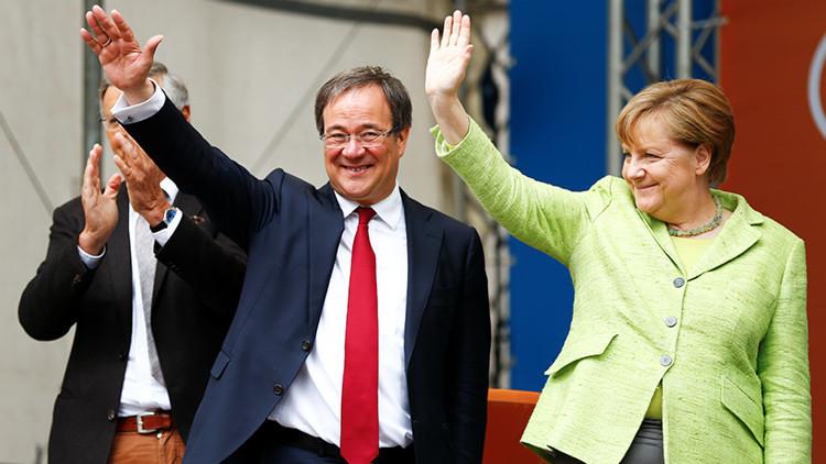 El partido de Angela Merkel lidera en las elecciones regionales en un estado clave