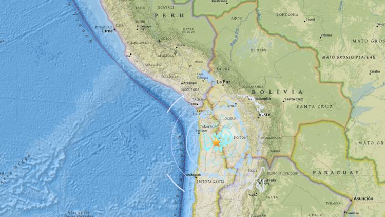 5.6 terremoto de magnitude sacode Chile