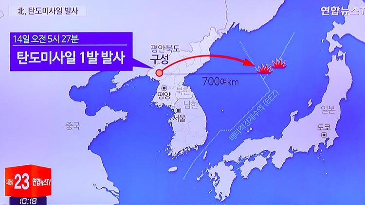 Pionyang: El misil balístico lanzado con éxito es capaz de llevar una ojiva nuclear