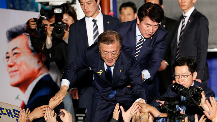 Corea del Sur tiene nuevo presidente, pero es su guardaespaldas quien causa sensación (FOTOS)