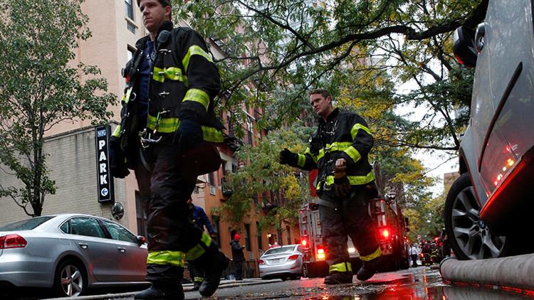 Incendio arrasa una sinagoga en Nueva York (Fotos y Videos)
