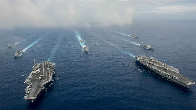 Grupo de ataque de EE.UU. en Japón recibe la orden de salir a la mar
