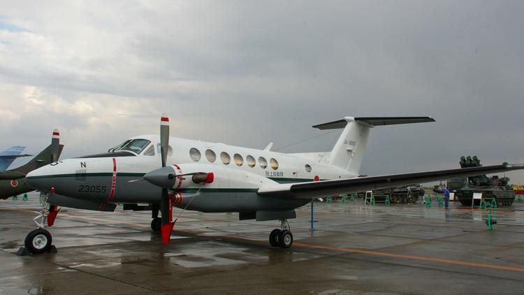 Se estrella un avión de la Fuerza Aérea de Japón al norte del país