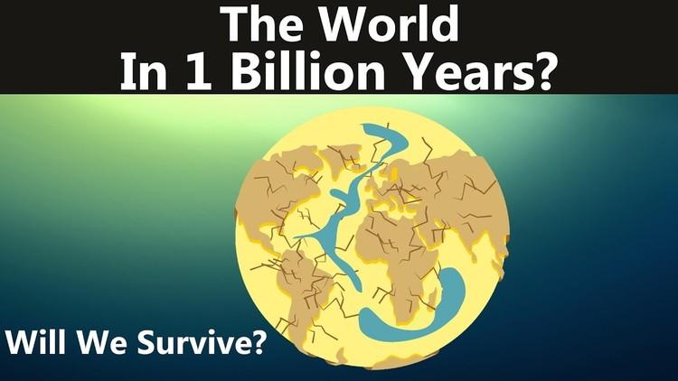 VIDEO: Así será el mundo dentro de mil millones de años