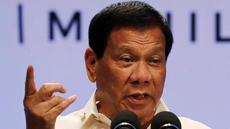 El inesperado cambio de postura de Duterte sobre el mar de la China Meridional