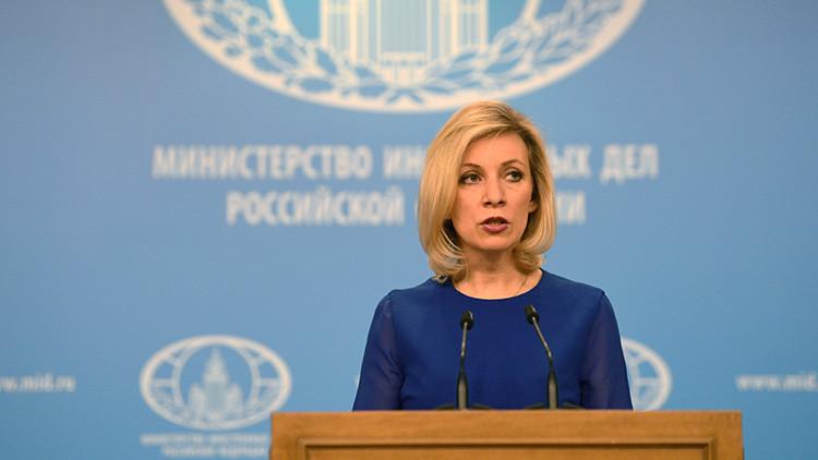 """Zajárova recomienda no leer periódicos de EE.UU.: """"Esto ya no es solo perjudicial, sino peligroso"""""""