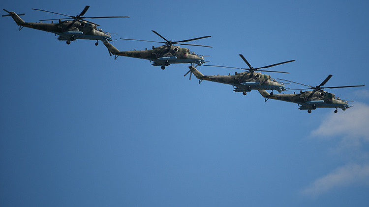 Rusia desarrolla un helicóptero militar que supera los 500 km/h
