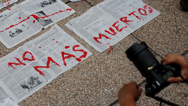 #NiUnoMás: medios mexicanos hacen paro de labores tras asesinato de periodistas