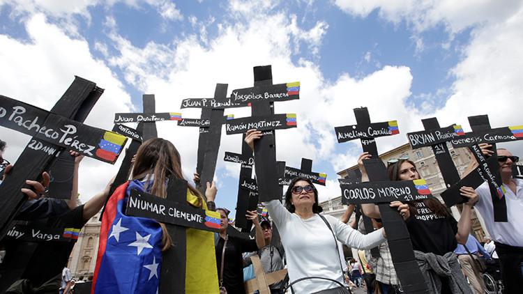 ¿Todas las víctimas son de oposición? Lo que no le dicen sobre las protestas violentas en Venezuela