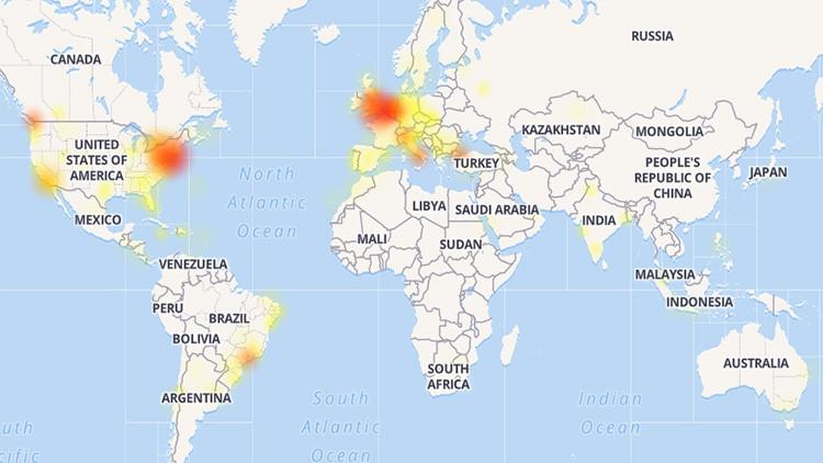 Instagram registra fallos por todo el mundo