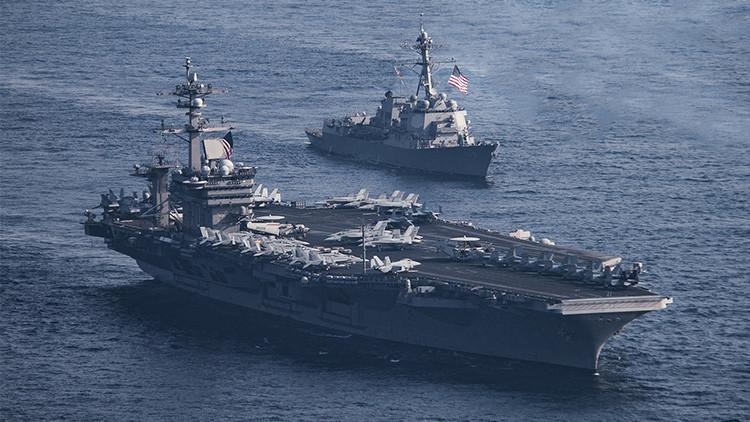 """EE.UU. quiere aumentar su capacidad naval """"para seguir siendo competitivos"""" frente a Rusia y China"""