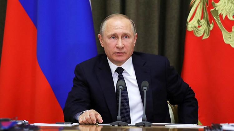 """Putin: """"Rusia está dispuesta a aumentar la cooperación internacional antiterrorista"""""""