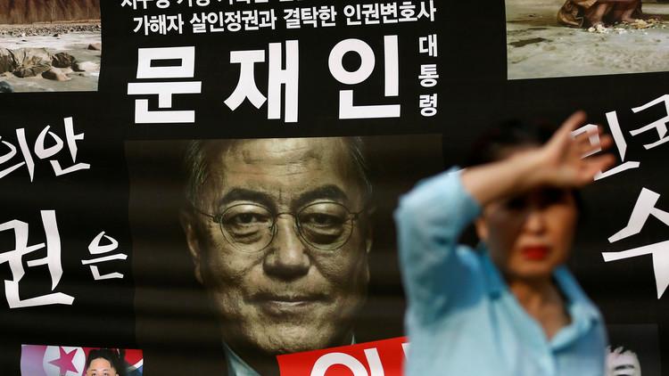 """Nuevo presidente de Corea del Sur: Hay una """"alta posibilidad"""" de un conflicto con Corea del Norte"""