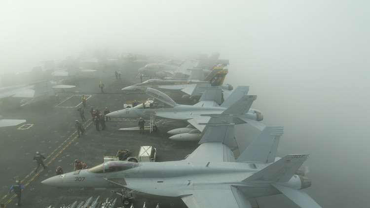 Cómo EE.UU. hace la vista gorda ante el creciente poder naval de China