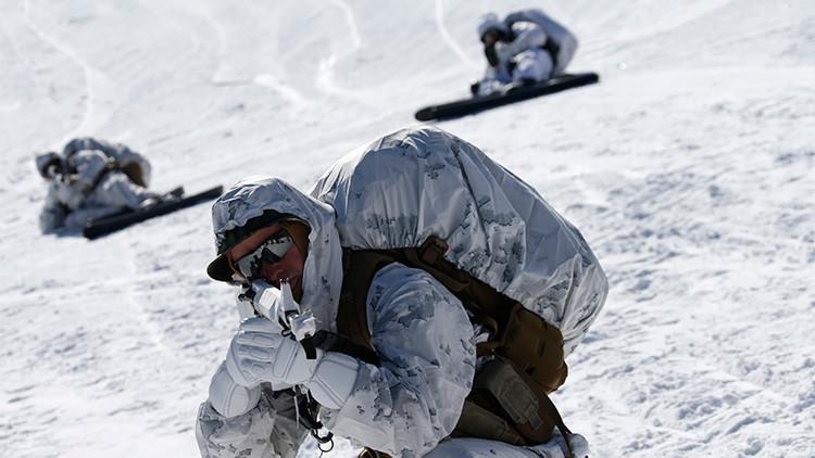 FOTOS: El frío noruego pudo con los soldados de EE.UU.