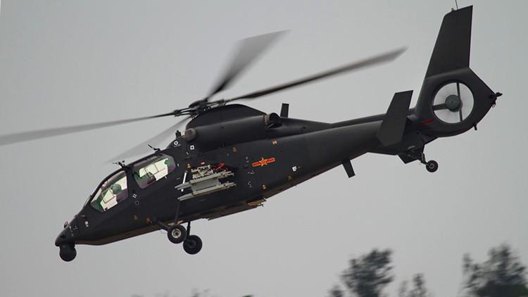 FOTOS: China prueba con éxito su nuevo helicóptero de ataque Z-19E