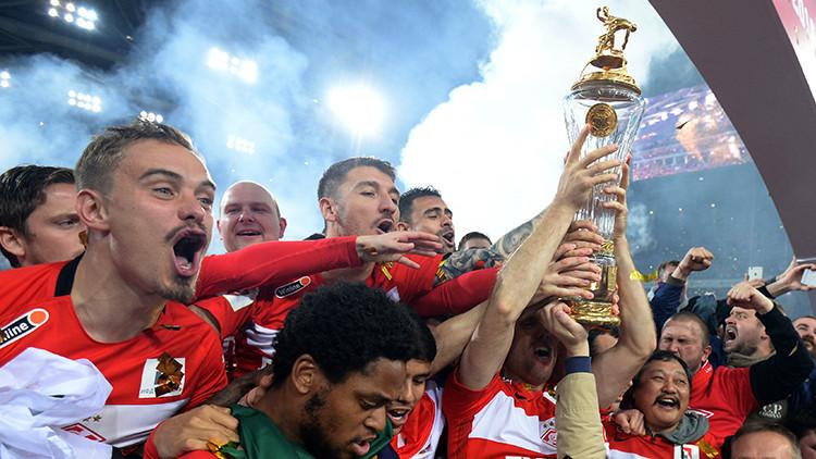 El fútbol ruso tiene un nuevo zar: Spartak levanta la copa de la Liga Premier