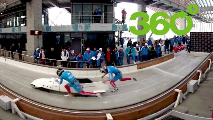 Bobsleigh en 360º: Fórmula 1 sobre hielo