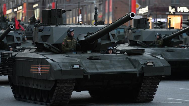 Duelo de 'Titanes': Tanque ruso T-14 Armata contra Leopard 2A7+ de la OTAN