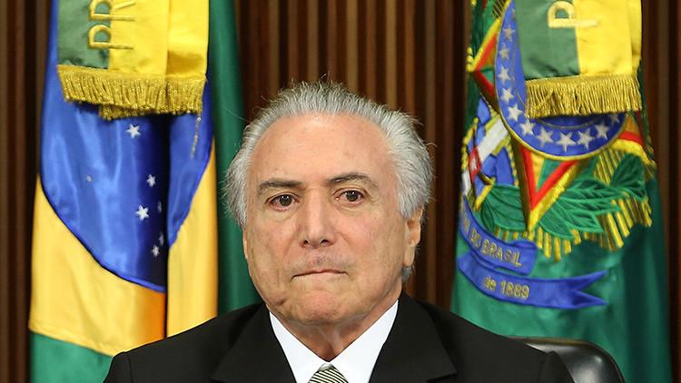 Tiempos de Temer: ¿Qué ocurrirá en Brasil si el mandatario es destituido por corrupción?