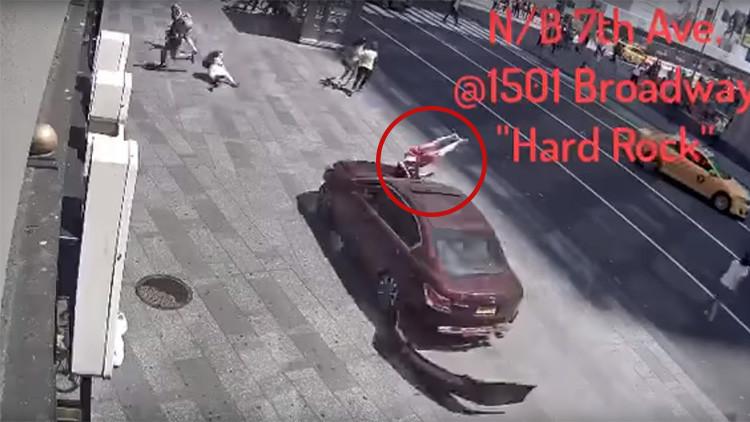 Como una película de terror: La tragedia de Times Square, segundo a segundo (FUERTES IMÁGENES)