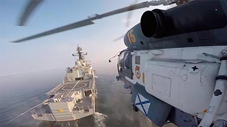 La Marina rusa publica un espectacular video de la Flota del Báltico