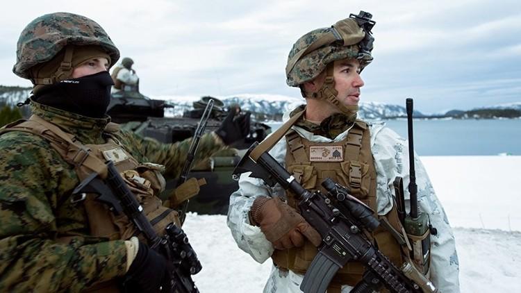 """""""El Pentágono debe arder de vergüenza"""": Los marines de EE.UU. 'se congelan' en Noruega"""