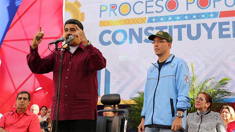 """Maduro a Trump: """" ¡Saca tus manos de Venezuela, ¡go home!'"""""""
