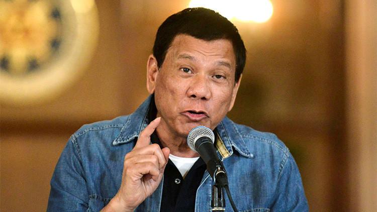 Presidente filipino: Pekín amenaza con una guerra si buscamos crudo en el mar de la China Meridional