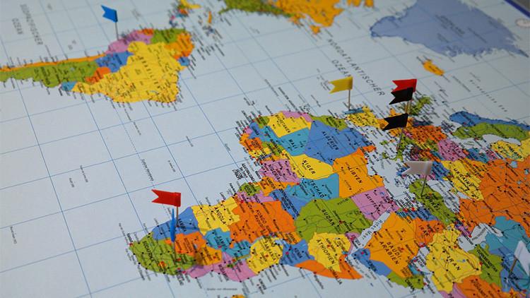 'Guerra' para EE.UU.: Un mapa asocia a cada país la palabra más común de sus artículos en Wikipedia