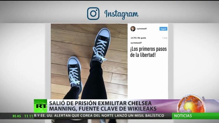 Sale de prisión la exmilitar Chelsea Manning