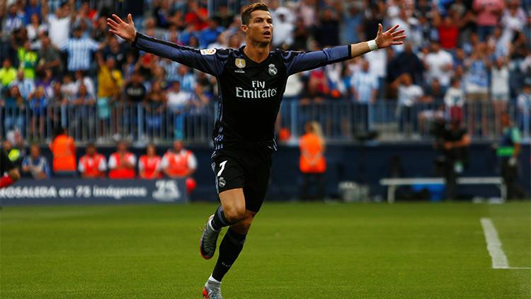 El Real Madrid gana la Liga española tras vencer al Málaga en la última jornada